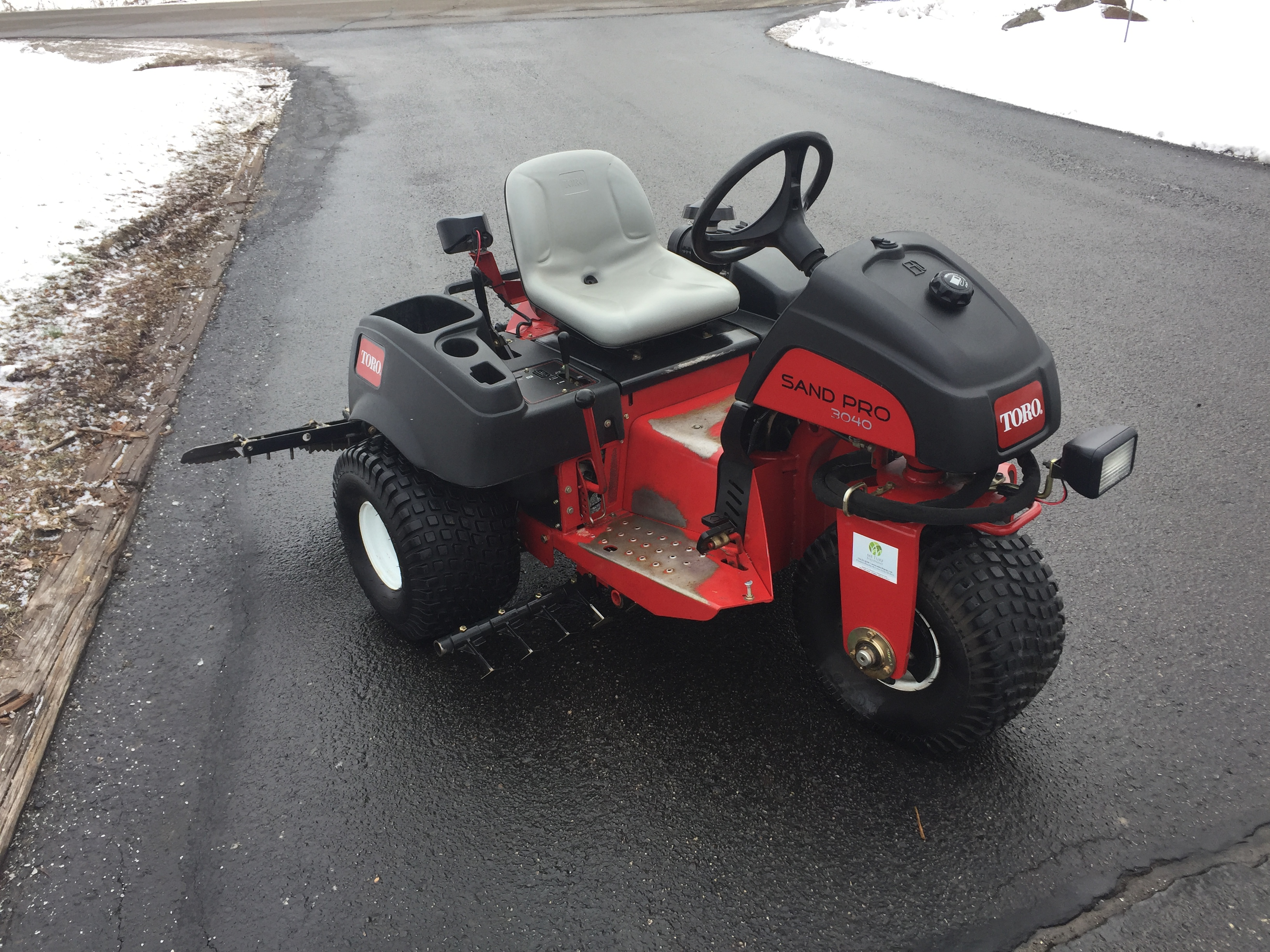 2014 Toro 3040 Sandpro 174 Bunker Infield Rake Michigan